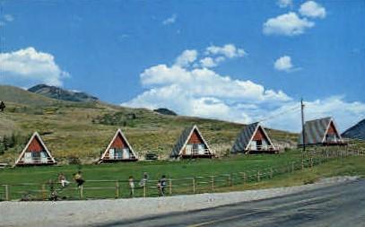 J-Circles-S Ranch - Jackson Hole, Wyoming WY Postcard