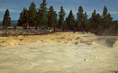Fountain Paint Pots - Yellowstone National Park, Wyoming WY Postcard