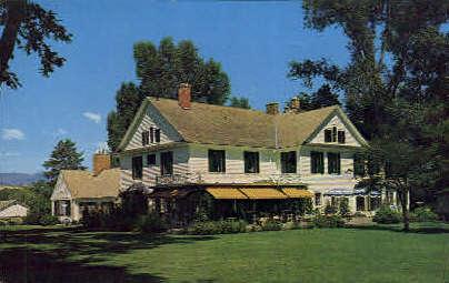 Bradford Brinton Memorial - Sheridan, Wyoming WY Postcard