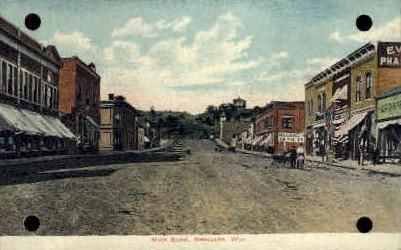 Main St. - Newcastle, Wyoming WY Postcard
