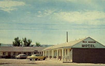 Red Arrow Motel - Casper, Wyoming WY Postcard