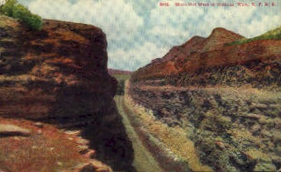 Shale Cut  - Wilkins, Wyoming WY Postcard