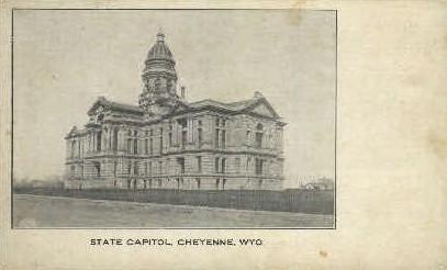 State Capitol - Cheyenne, Wyoming WY Postcard