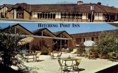 Hitching Post Inn - Cheyenne, Wyoming WY Postcard