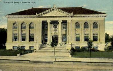 Carnegie Library - Cheyenne, Wyoming WY Postcard