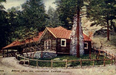 Bruin Inn - Cheyenne, Wyoming WY Postcard
