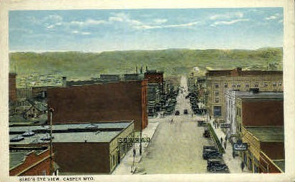Casper, Wyoming Postcard      ;      Casper, WY