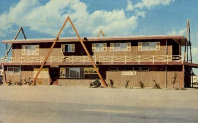 Casper KOA Kampground - Wyoming WY Postcard
