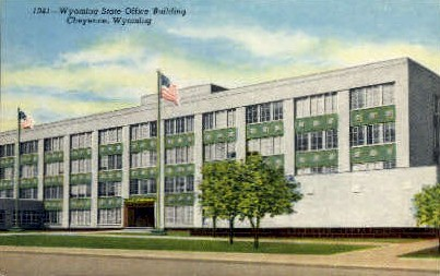 State Office Building - Cheyenne, Wyoming WY Postcard