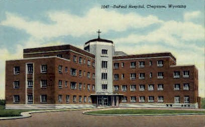 DePaul Hospital - Cheyenne, Wyoming WY Postcard