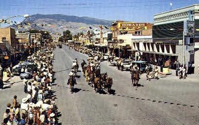 Sheridan Ave. - Cody, Wyoming WY Postcard