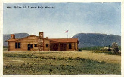 Buffalo Bill Museum - Cody, Wyoming WY Postcard