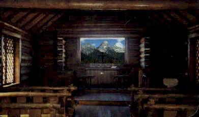 Teton Peaks - Jackson Hole, Wyoming WY Postcard
