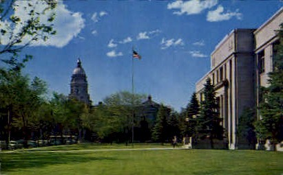 Supreme Court Building - Cheyenne, Wyoming WY Postcard