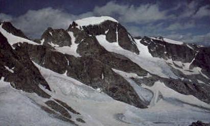 Gannett Peak, WY Postcard      ;      Gannett Peak, Wyoming
