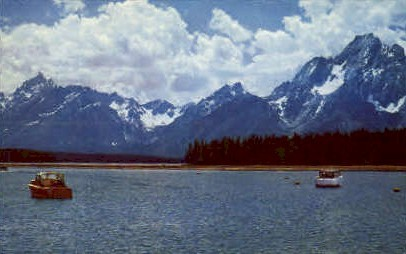 Colter Bay - Grand Teton National Park, Wyoming WY Postcard