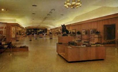 The Whitney Gallery of Western Art - Cody, Wyoming WY Postcard