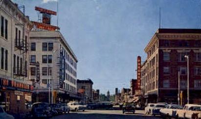 Capitol Ave. - Cheyenne, Wyoming WY Postcard