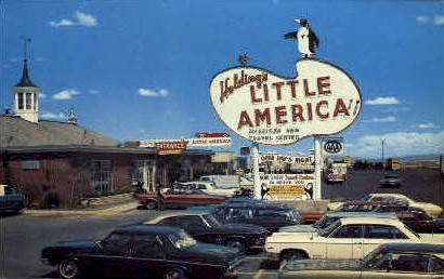 Holding's Little America - Wyoming WY Postcard