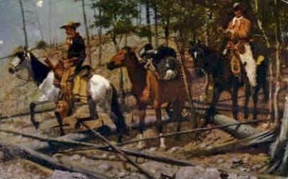 The Prospectors - Cody, Wyoming WY Postcard