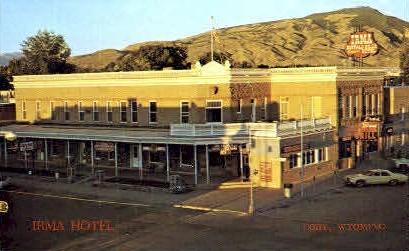Irma Hotel - Cody, Wyoming WY Postcard