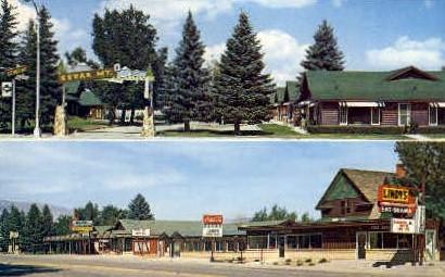 Lindy's Family Restaurant - Cody, Wyoming WY Postcard