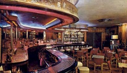 Silver Dollar Bar, Wort Hotel - Jackson Hole, Wyoming WY Postcard