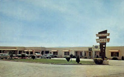 Chieftain Motel - Douglas, Wyoming WY Postcard