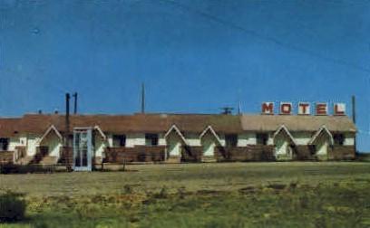 Wamsutter Motel - Wyoming WY Postcard