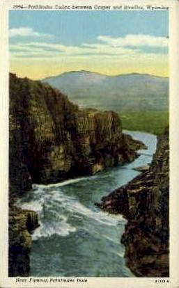 Pathfinder Canon - Casper, Wyoming WY Postcard
