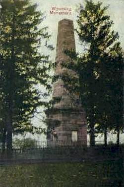 Wyoming Monument - Misc Postcard