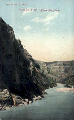 Big Horn Canyon - Buffalo, Wyoming WY Postcard