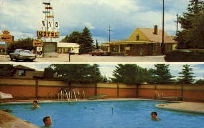 Wyo Hotel - Laramie, Wyoming WY Postcard