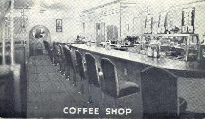 Coffee Shop - Granger, Wyoming WY Postcard