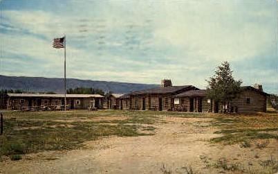 Old Fort Casper - Wyoming WY Postcard