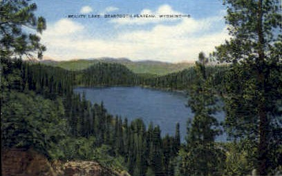 Beauty Lake - Beartooth Plateau, Wyoming WY Postcard