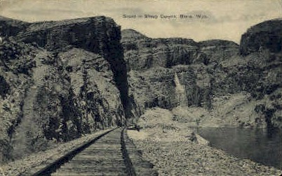 Sheep Canyon - Basin, Wyoming WY Postcard