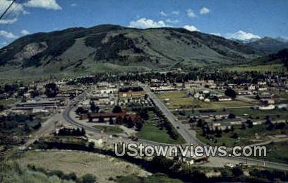 Jackson, WY, Wyoming, Postcard