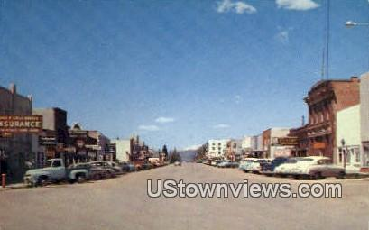 Afton, WY, Wyoming, Postcard