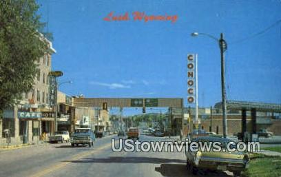Lusk, WY, Wyoming, Postcard