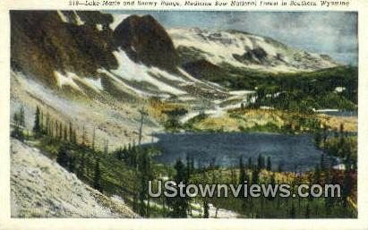 Lake Marie - Medicine Bow National Forest, Wyoming WY Postcard