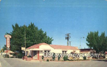 Red & White Court - Casper, Wyoming WY Postcard