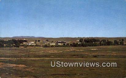 Fort Laramie, WY, Wyoming, Postcard