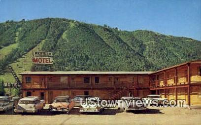 Western Motel - Jackson, Wyoming WY Postcard