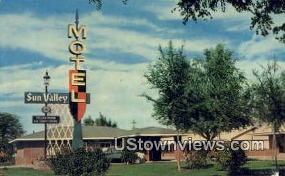 Sun Valley Motel - Warland, Wyoming WY Postcard