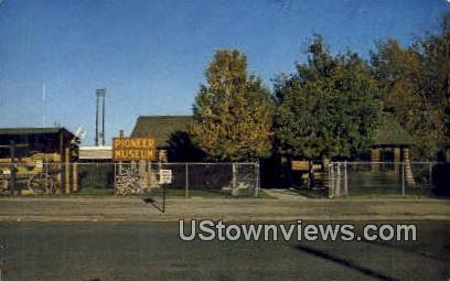 Pioneer Museum - Thermopolis, Wyoming WY Postcard