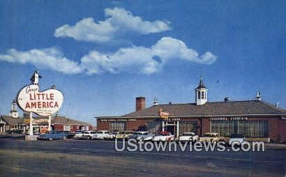 Covey's Little America - Misc, Wyoming WY Postcard