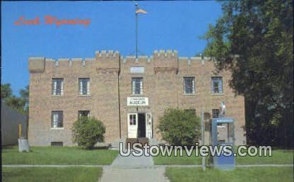 Museum - Lusk, Wyoming WY Postcard