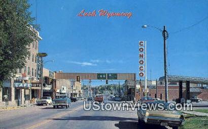 Lusk, WY, Wyoming, Postcard