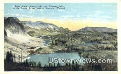 Lake Marie - Laramie, Wyoming WY Postcard